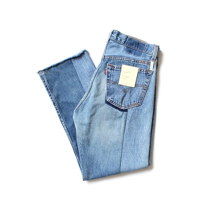152994697 Hexico / Deformer Jeans - Ex. 501 リメイクジーンズ - W33 02