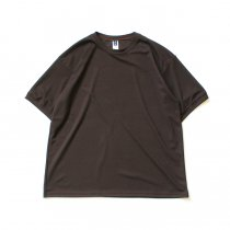 SMOKE T ONE / Dry Pique Tee ドライ鹿の子Tシャツ - Brown<img class='new_mark_img2' src='//img.shop-pro.jp/img/new/icons47.gif' style='border:none;display:inline;margin:0px;padding:0px;width:auto;' />