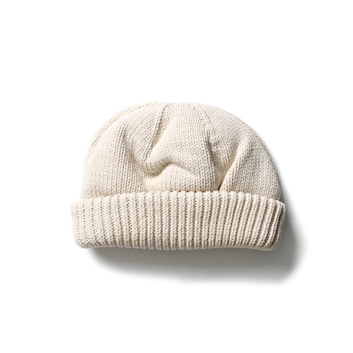 153490115 crepuscule / Knit cap 2003-017 White ニットキャップ ホワイト<img class='new_mark_img2' src='//img.shop-pro.jp/img/new/icons47.gif' style='border:none;display:inline;margin:0px;padding:0px;width:auto;' /> 01