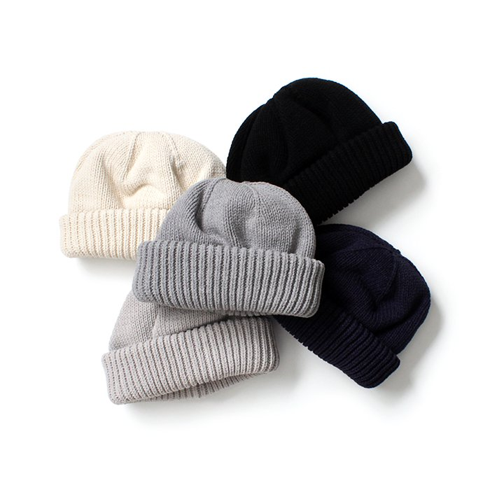 153490115 crepuscule / Knit cap 2003-017 White ニットキャップ ホワイト<img class='new_mark_img2' src='//img.shop-pro.jp/img/new/icons47.gif' style='border:none;display:inline;margin:0px;padding:0px;width:auto;' /> 02