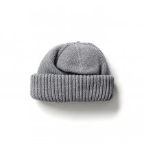 crepuscule / Knit cap 2003-017 Gray ニットキャップ グレー