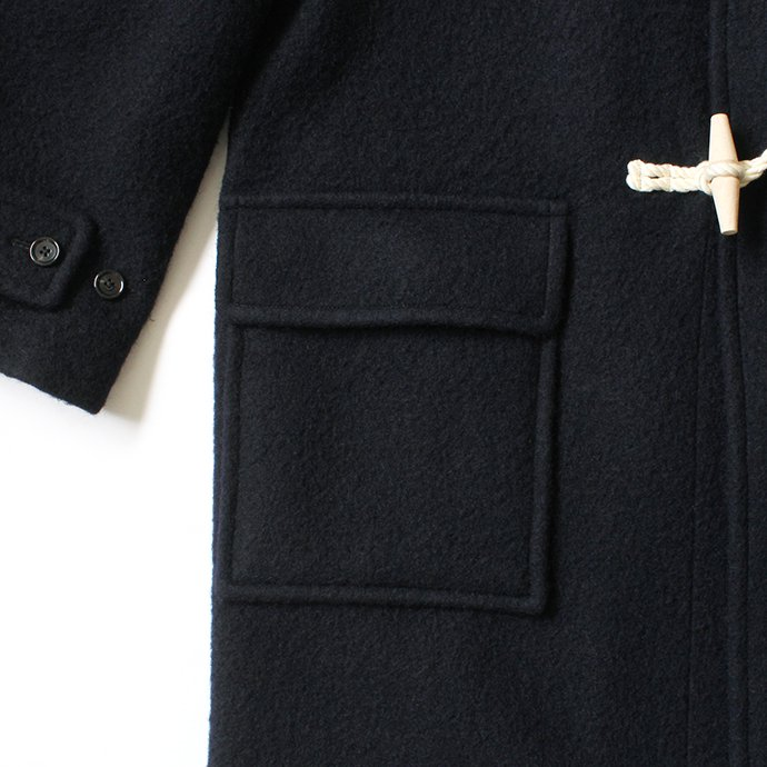 153755274 blurhms ROOTSTOCK / Wool Melton Duffle Coat - Navy ROOTS-F202<img class='new_mark_img2' src='//img.shop-pro.jp/img/new/icons47.gif' style='border:none;display:inline;margin:0px;padding:0px;width:auto;' /> 02