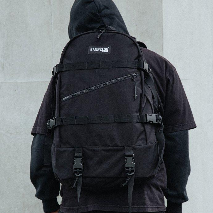 153795786 BAICYCLON by bagjack / BCL-02 - Black バイシクロンバイバッグジャック バックパック ブラック 02