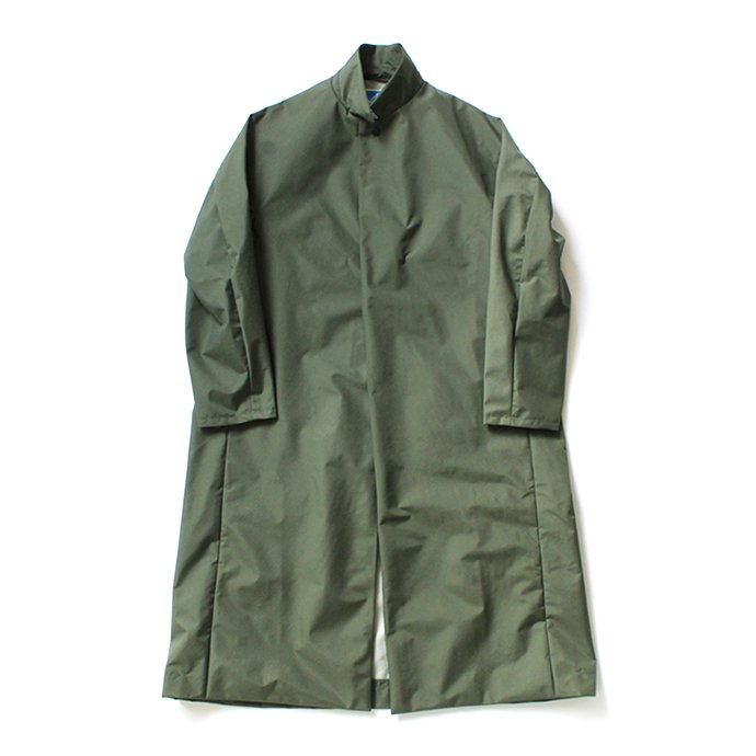 Powderhorn Mountaineering / P.H. M. LONG COAT 3Lナイロン シェルコート PH20FW-002 - Olive