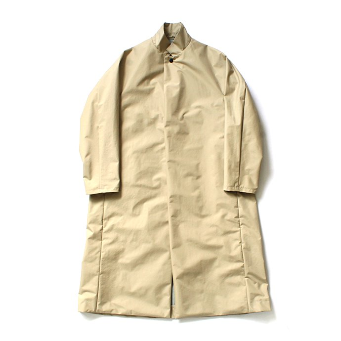 Powderhorn Mountaineering / P.H. M. LONG COAT 3Lナイロン シェルコート PH20FW-002 - Beige
