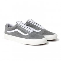 VANS / Pig Suede Old Skool - Drizzle / Snow White ヴァンズ スウェードオールドスクール グレー VN0A4BV518P