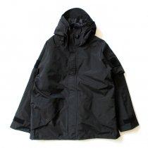 SBB / Parka imp. trasp. con liner - Black ECWCSスタイル防水透湿パーカー ブラック
