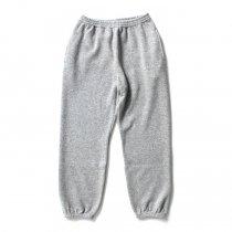 CRESPI / Lambswool/Cotton Pants - Grey ラムズウールコットン カットソーパンツ グレー