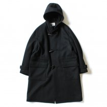 STILL BY HAND / CO02204 ダッフルコート - Black