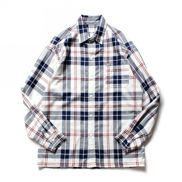 155495779 CalTop / 2000 フランネル L/Sシャツ - Urban チェック 01