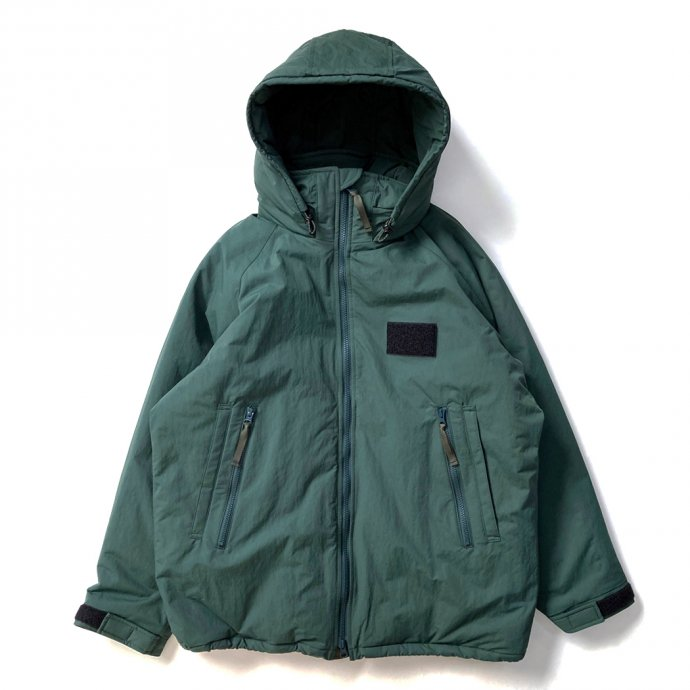 155547369 O-(オー)/ SLEEPY PARKA O-W-15 - Forest 01