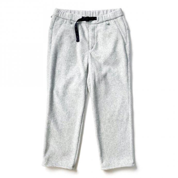 155564058 O-(オー)/ FREE SWEAT PANTS フリースイージーパンツ 21W-03 - Heather Gray 01
