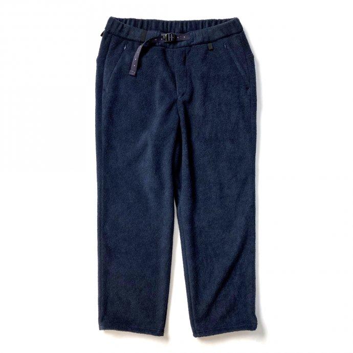 155564110 O-(オー)/ FREE SWEAT PANTS フリースイージーパンツ 21W-03 - Navy 01