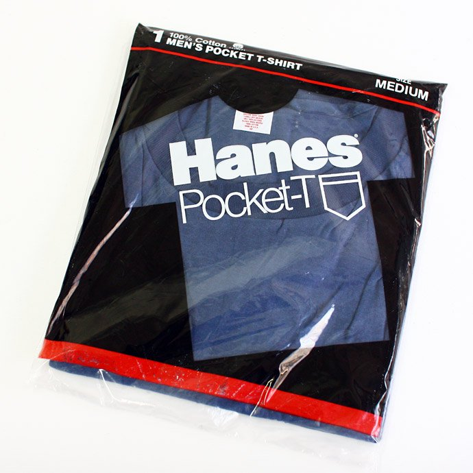 22626142 Deadstock HANES Pocket-T / Navy M<img class='new_mark_img2' src='//img.shop-pro.jp/img/new/icons47.gif' style='border:none;display:inline;margin:0px;padding:0px;width:auto;' /> 01