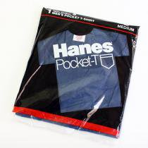 Deadstock HANES Pocket-T / Navy M