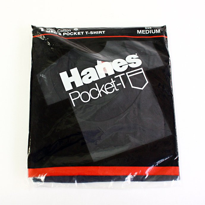 22626143 Deadstock HANES Pocket-T / Black M<img class='new_mark_img2' src='//img.shop-pro.jp/img/new/icons47.gif' style='border:none;display:inline;margin:0px;padding:0px;width:auto;' /> 01