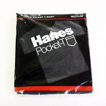 EHS Vintage Deadstock HANES Pocket-T / Black M