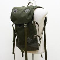 Canvas Backpack - Olive<img class='new_mark_img2' src='//img.shop-pro.jp/img/new/icons47.gif' style='border:none;display:inline;margin:0px;padding:0px;width:auto;' />