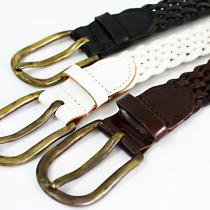 This is... / Leather Mesh Belt 35mm