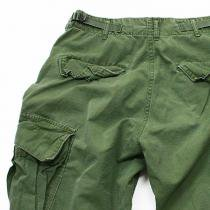 EHS Vintage Used '60s Jungle Fatigue Pants w/ Talon Zipper
