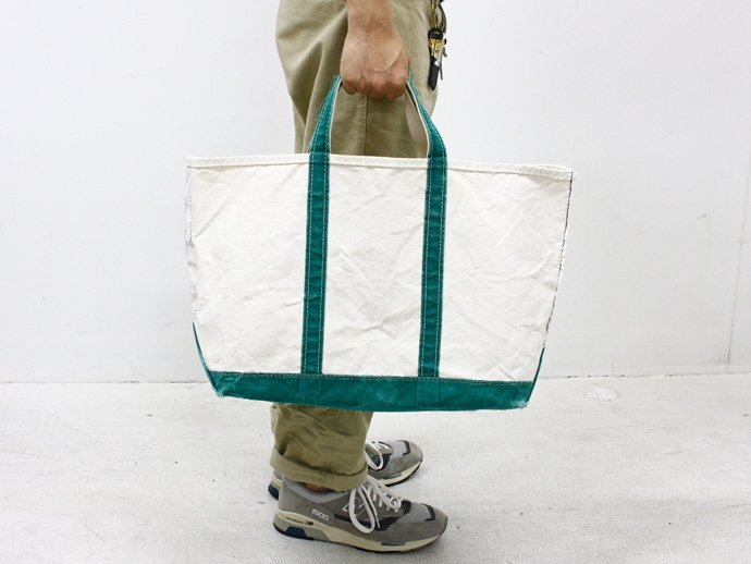 23686815 80s L.L.Bean Boat and Tote Bag - Green<img class='new_mark_img2' src='//img.shop-pro.jp/img/new/icons47.gif' style='border:none;display:inline;margin:0px;padding:0px;width:auto;' /> 02