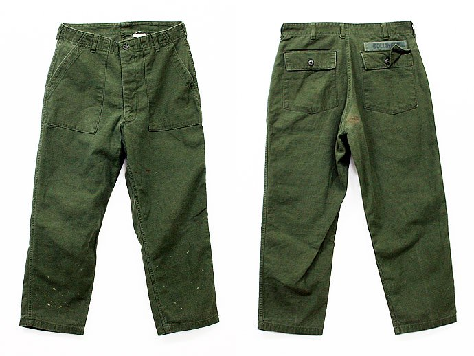24666443 Used U.S. Army Utility Trousers - W36 L29<img class='new_mark_img2' src='//img.shop-pro.jp/img/new/icons47.gif' style='border:none;display:inline;margin:0px;padding:0px;width:auto;' /> 02