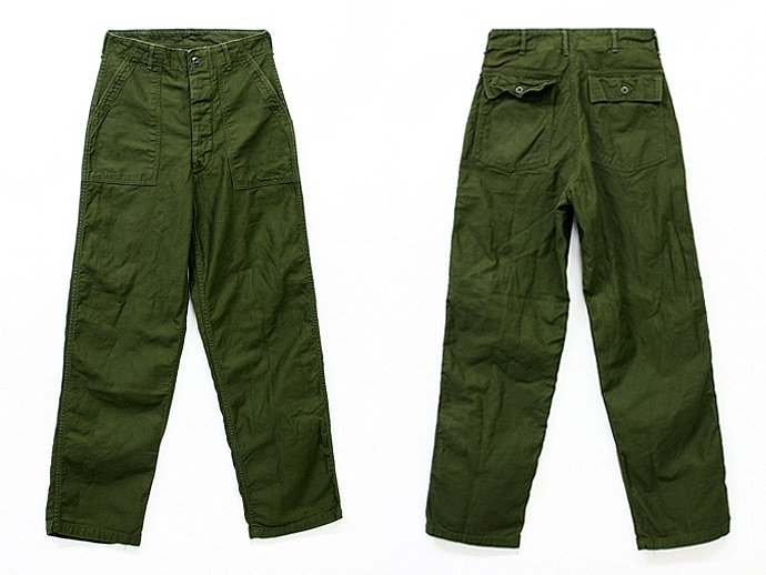 EHS Vintage Used (Like New) U.S. Army Utility Trousers - W30 L33<img class='new_mark_img2' src='//img.shop-pro.jp/img/new/icons47.gif' style='border:none;display:inline;margin:0px;padding:0px;width:auto;' /> 02