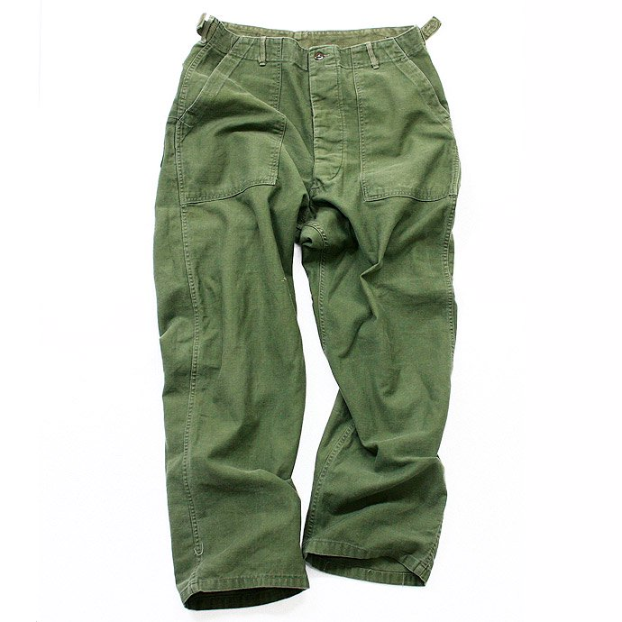 EHS Vintage Used '60s U.S. Army Utility Trousers w/Adjust Tab<img class='new_mark_img2' src='//img.shop-pro.jp/img/new/icons47.gif' style='border:none;display:inline;margin:0px;padding:0px;width:auto;' /> 01