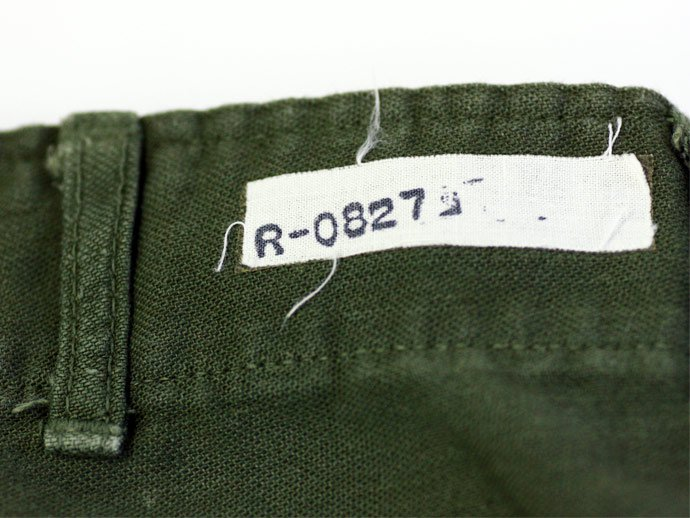 24770741 Used U.S. Army Utility Trousers - W30 L29<img class='new_mark_img2' src='//img.shop-pro.jp/img/new/icons47.gif' style='border:none;display:inline;margin:0px;padding:0px;width:auto;' /> 02