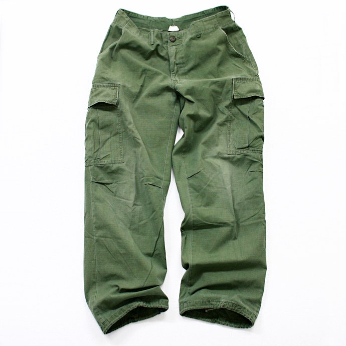 EHS Vintage Used '60s Jungle Fatigue Pants w/ Scovill Zipper Ji02R<img class='new_mark_img2' src='//img.shop-pro.jp/img/new/icons47.gif' style='border:none;display:inline;margin:0px;padding:0px;width:auto;' /> 01
