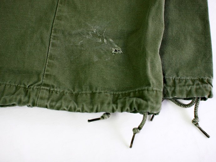 EHS Vintage Used '60s Jungle Fatigue Pants w/ Scovill Zipper J01R 02