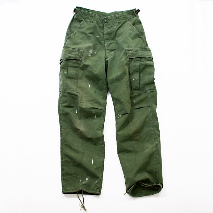 EHS Vintage Used '60s Poplin Jungle Fatigue Pants J06p<img class='new_mark_img2' src='//img.shop-pro.jp/img/new/icons47.gif' style='border:none;display:inline;margin:0px;padding:0px;width:auto;' /> 01