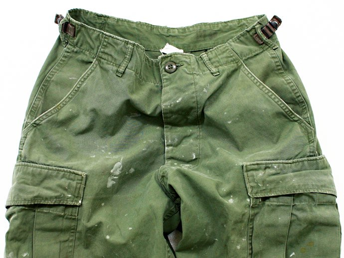 EHS Vintage Used '60s Poplin Jungle Fatigue Pants J06p<img class='new_mark_img2' src='//img.shop-pro.jp/img/new/icons47.gif' style='border:none;display:inline;margin:0px;padding:0px;width:auto;' /> 02