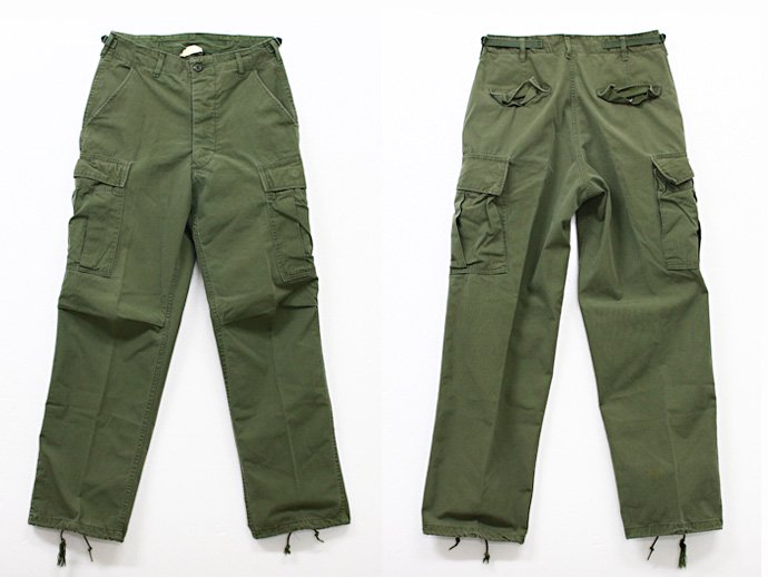 EHS Vintage Used '60s Poplin Jungle Fatigue Pants J01pi<img class='new_mark_img2' src='//img.shop-pro.jp/img/new/icons47.gif' style='border:none;display:inline;margin:0px;padding:0px;width:auto;' /> 02