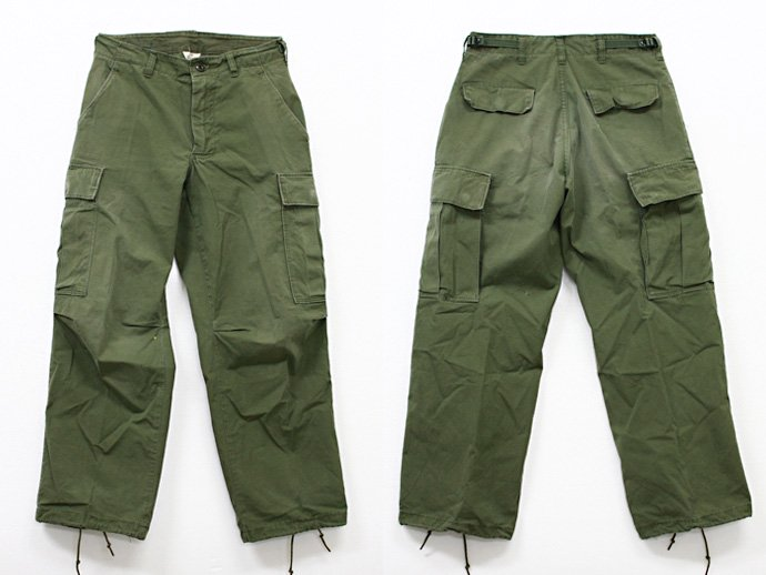 EHS Vintage Used '60s Jungle Fatigue Pants w/ Talon Zipper J03R<img class='new_mark_img2' src='//img.shop-pro.jp/img/new/icons47.gif' style='border:none;display:inline;margin:0px;padding:0px;width:auto;' /> 02
