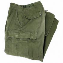 EHS Vintage Used '60s Jungle Fatigue Pants w/ Talon Zipper J03R