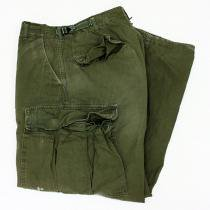 EHS Vintage Used '60s Rip Stop Poplin Jungle Fatigue Pants  J05R<img class='new_mark_img2' src='//img.shop-pro.jp/img/new/icons47.gif' style='border:none;display:inline;margin:0px;padding:0px;width:auto;' />