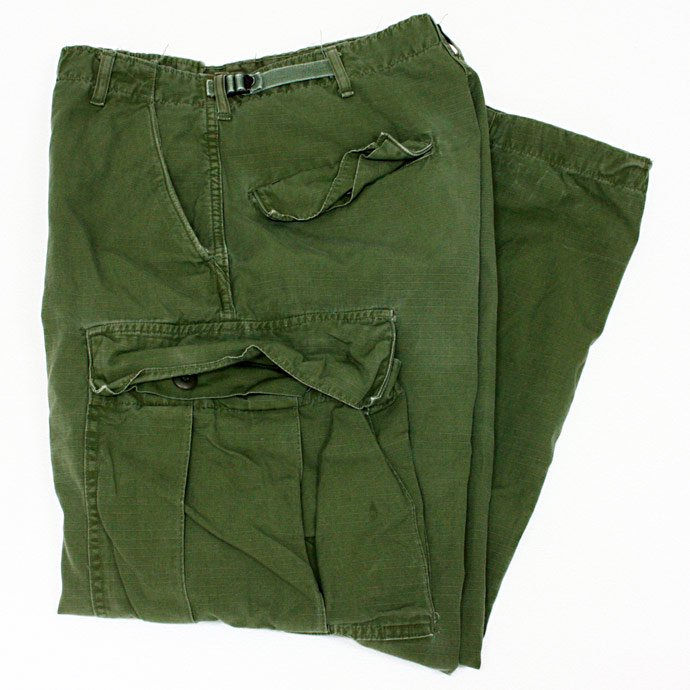 EHS Vintage Used '60s Rip Stop Poplin Jungle Fatigue Pants J02R<img class='new_mark_img2' src='//img.shop-pro.jp/img/new/icons47.gif' style='border:none;display:inline;margin:0px;padding:0px;width:auto;' /> 01