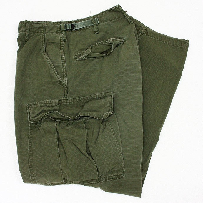 EHS Vintage Used '60s Jungle Fatigue Pants w/ Talon Zipper J04R ユーズド リップストップ ジャングルファティーグパンツ<img class='new_mark_img2' src='//img.shop-pro.jp/img/new/icons47.gif' style='border:none;display:inline;margin:0px;padding:0px;width:auto;' /> 01