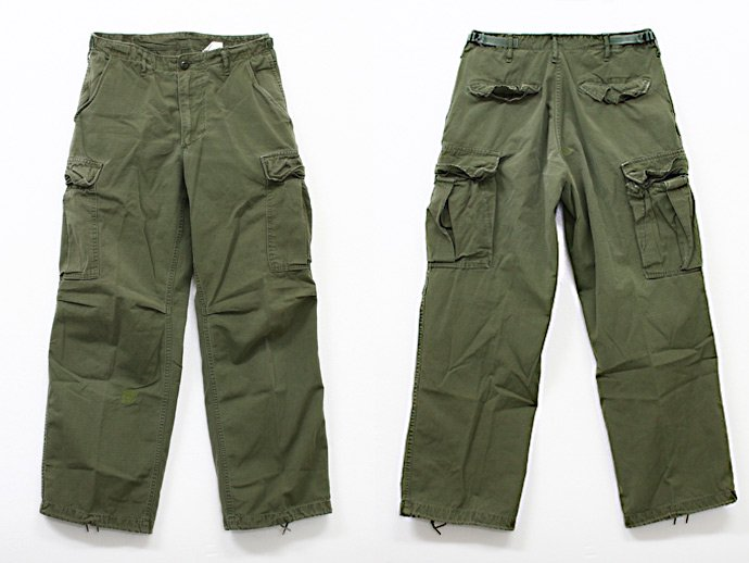 EHS Vintage Used '60s Jungle Fatigue Pants w/ Talon Zipper J04R ユーズド リップストップ ジャングルファティーグパンツ<img class='new_mark_img2' src='//img.shop-pro.jp/img/new/icons47.gif' style='border:none;display:inline;margin:0px;padding:0px;width:auto;' /> 02