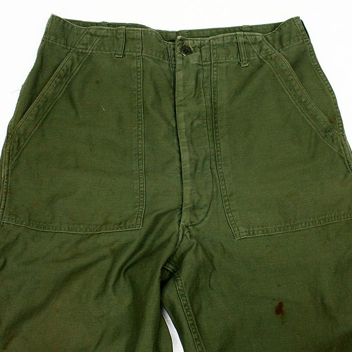 25379877 Used U.S. Army Utility Trousers - W34 L35<img class='new_mark_img2' src='//img.shop-pro.jp/img/new/icons47.gif' style='border:none;display:inline;margin:0px;padding:0px;width:auto;' /> 01