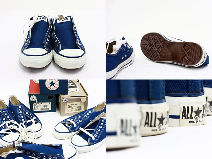 EHS Vintage Converse All Star (Made in U.S.A.) Lo - Navy<img class='new_mark_img2' src='//img.shop-pro.jp/img/new/icons47.gif' style='border:none;display:inline;margin:0px;padding:0px;width:auto;' /> 02