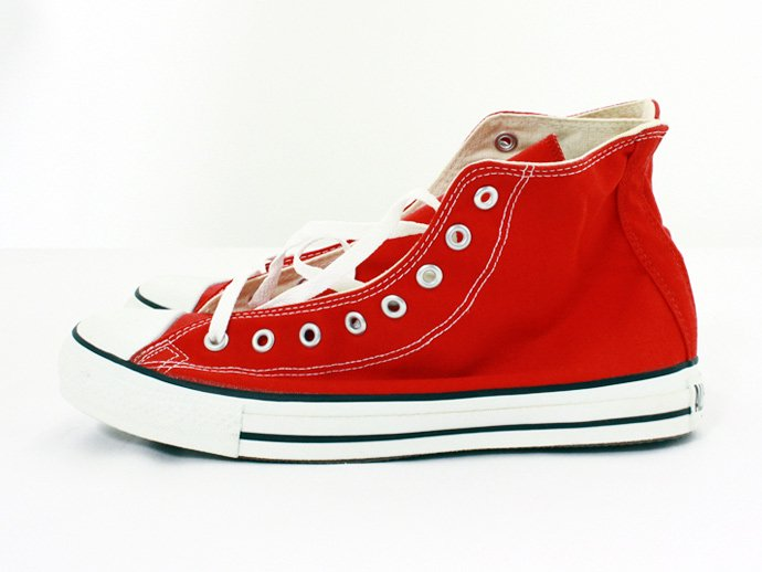 EHS Vintage Converse All Star (Made in U.S.A.) Hi - Red<img class='new_mark_img2' src='//img.shop-pro.jp/img/new/icons47.gif' style='border:none;display:inline;margin:0px;padding:0px;width:auto;' /> 02
