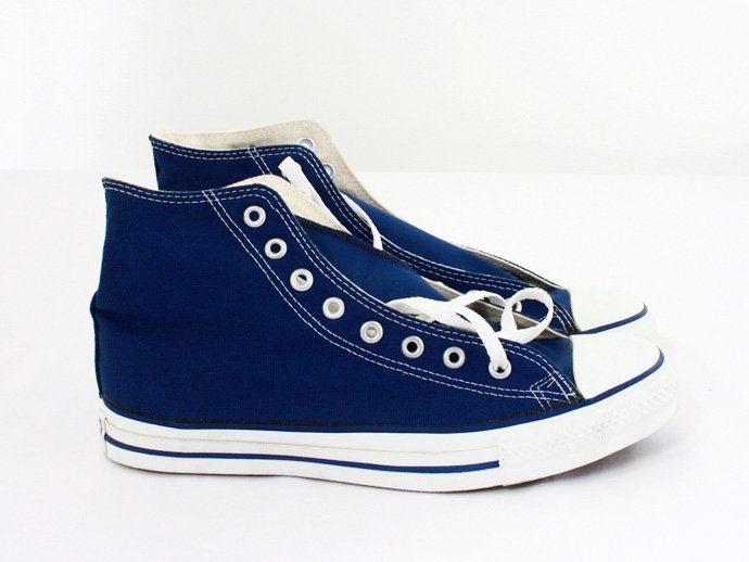 EHS Vintage Converse All Star (Made in U.S.A.) Hi - Navy<img class='new_mark_img2' src='//img.shop-pro.jp/img/new/icons47.gif' style='border:none;display:inline;margin:0px;padding:0px;width:auto;' /> 02