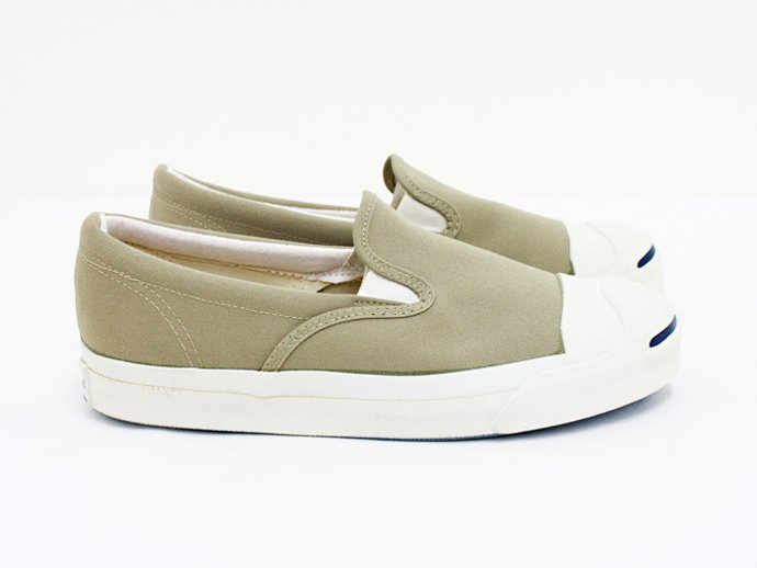 EHS Vintage Converse Jack Purcell Slip-on (Made in U.S.A.) -Khaki<img class='new_mark_img2' src='//img.shop-pro.jp/img/new/icons47.gif' style='border:none;display:inline;margin:0px;padding:0px;width:auto;' /> 02