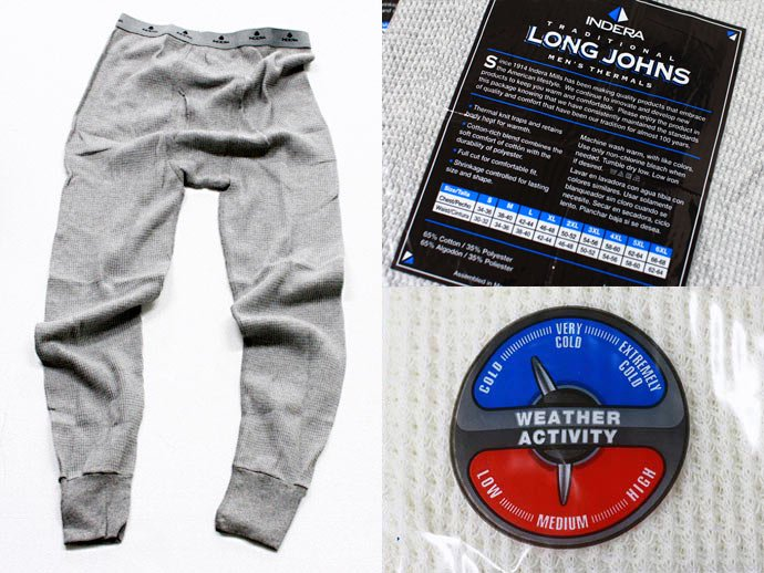 Other Brands INDERA / Classic Long Johns - Thermal Pant インデラ サーマルタイツ 02