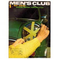 Bookstore MEN'S CLUB Vol.61 1967年1月号