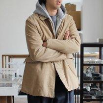 Hexico / Stand Fall Collar Short Coat / Antique Corduroy ショートコート コーデュロイ