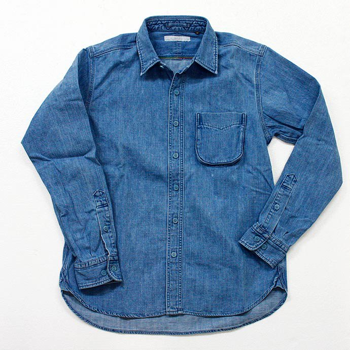 Hexico 8oz. Denim Regular Collar Shirts<img class='new_mark_img2' src='//img.shop-pro.jp/img/new/icons47.gif' style='border:none;display:inline;margin:0px;padding:0px;width:auto;' /> 01