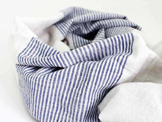 Other Brands Khadi Cotton Stripe Stole<img class='new_mark_img2' src='//img.shop-pro.jp/img/new/icons47.gif' style='border:none;display:inline;margin:0px;padding:0px;width:auto;' /> 02
